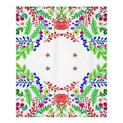 Holiday Festive Background With Space For Writing Shower Curtain 60  x 72  (Medium)