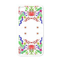 Holiday Festive Background With Space For Writing Apple iPhone 4 Case (White)