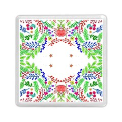 Holiday Festive Background With Space For Writing Memory Card Reader (Square)
