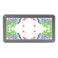 Holiday Festive Background With Space For Writing Memory Card Reader (mini)