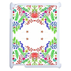 Holiday Festive Background With Space For Writing Apple Ipad 2 Case (white)