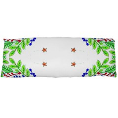 Holiday Festive Background With Space For Writing Body Pillow Case Dakimakura (two Sides)