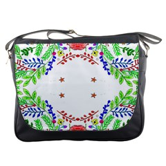 Holiday Festive Background With Space For Writing Messenger Bags