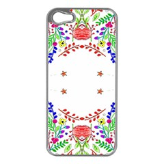 Holiday Festive Background With Space For Writing Apple Iphone 5 Case (silver)