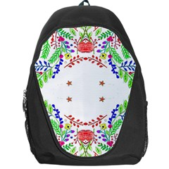 Holiday Festive Background With Space For Writing Backpack Bag