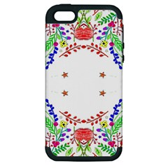 Holiday Festive Background With Space For Writing Apple Iphone 5 Hardshell Case (pc+silicone)