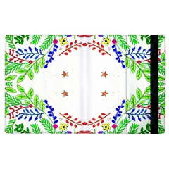 Holiday Festive Background With Space For Writing Apple iPad 3/4 Flip Case