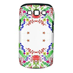 Holiday Festive Background With Space For Writing Samsung Galaxy S Iii Classic Hardshell Case (pc+silicone)