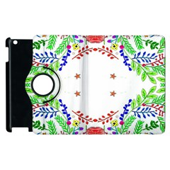 Holiday Festive Background With Space For Writing Apple Ipad 3/4 Flip 360 Case