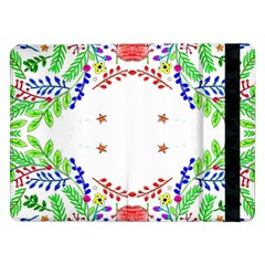 Holiday Festive Background With Space For Writing Samsung Galaxy Tab Pro 12 2  Flip Case