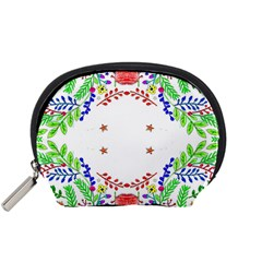 Holiday Festive Background With Space For Writing Accessory Pouches (small)