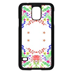 Holiday Festive Background With Space For Writing Samsung Galaxy S5 Case (black)