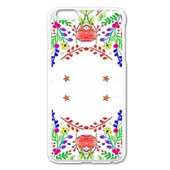 Holiday Festive Background With Space For Writing Apple Iphone 6 Plus/6s Plus Enamel White Case