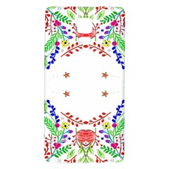 Holiday Festive Background With Space For Writing Galaxy Note 4 Back Case