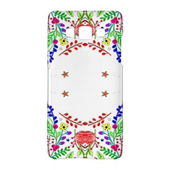 Holiday Festive Background With Space For Writing Samsung Galaxy A5 Hardshell Case