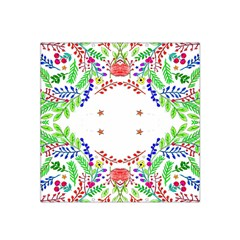 Holiday Festive Background With Space For Writing Satin Bandana Scarf