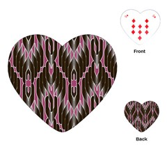 Pearly Pattern Playing Cards (Heart)