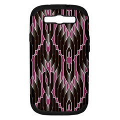 Pearly Pattern Samsung Galaxy S Iii Hardshell Case (pc+silicone)
