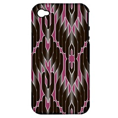 Pearly Pattern Apple Iphone 4/4s Hardshell Case (pc+silicone)