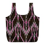 Pearly Pattern Full Print Recycle Bags (L)  Front