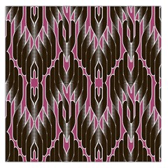 Pearly Pattern Large Satin Scarf (square)