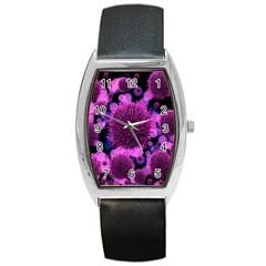Hintergrund Tapete Keime Viren Barrel Style Metal Watch