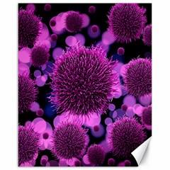 Hintergrund Tapete Keime Viren Canvas 16  x 20