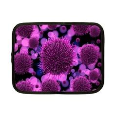 Hintergrund Tapete Keime Viren Netbook Case (Small)
