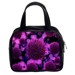 Hintergrund Tapete Keime Viren Classic Handbags (2 Sides)