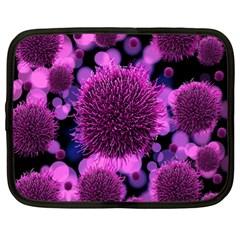 Hintergrund Tapete Keime Viren Netbook Case (XL)