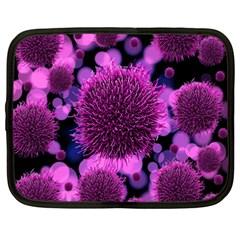 Hintergrund Tapete Keime Viren Netbook Case (xxl)