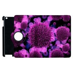 Hintergrund Tapete Keime Viren Apple iPad 3/4 Flip 360 Case