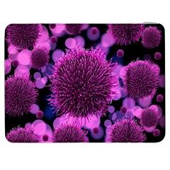 Hintergrund Tapete Keime Viren Samsung Galaxy Tab 7  P1000 Flip Case