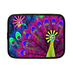 Peacock Abstract Digital Art Netbook Case (Small)