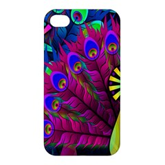 Peacock Abstract Digital Art Apple Iphone 4/4s Hardshell Case
