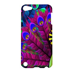 Peacock Abstract Digital Art Apple Ipod Touch 5 Hardshell Case