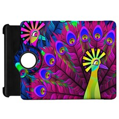 Peacock Abstract Digital Art Kindle Fire HD 7