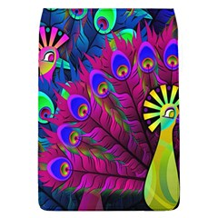 Peacock Abstract Digital Art Flap Covers (l)