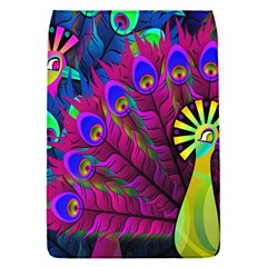 Peacock Abstract Digital Art Flap Covers (s)