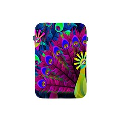 Peacock Abstract Digital Art Apple Ipad Mini Protective Soft Cases