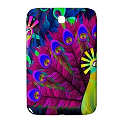 Peacock Abstract Digital Art Samsung Galaxy Note 8.0 N5100 Hardshell Case