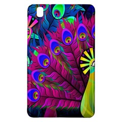 Peacock Abstract Digital Art Samsung Galaxy Tab Pro 8 4 Hardshell Case
