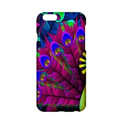 Peacock Abstract Digital Art Apple Iphone 6/6s Hardshell Case