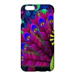 Peacock Abstract Digital Art Apple Iphone 6 Plus/6s Plus Hardshell Case