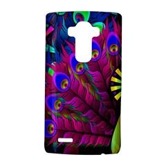 Peacock Abstract Digital Art LG G4 Hardshell Case