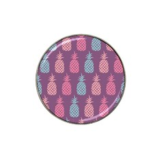 Pineapple Pattern  Hat Clip Ball Marker (4 pack)