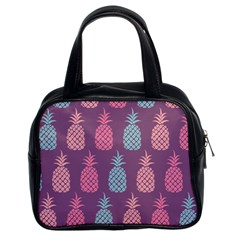 Pineapple Pattern  Classic Handbags (2 Sides)