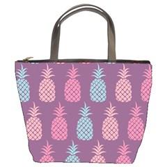 Pineapple Pattern  Bucket Bags