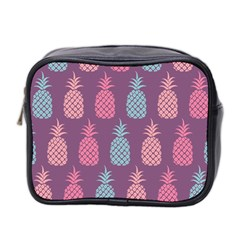 Pineapple Pattern  Mini Toiletries Bag 2 Side