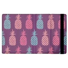 Pineapple Pattern  Apple Ipad 2 Flip Case